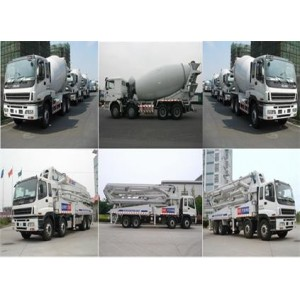 Isuzu truck parts,  Pump truck parts,  Mixers Parts